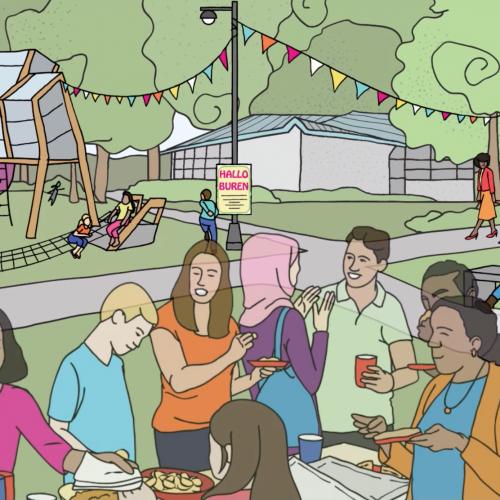 Het vertalen van abstracte begrippen in planvorming: beeldtaal in wijkvernieuwing Purmerend